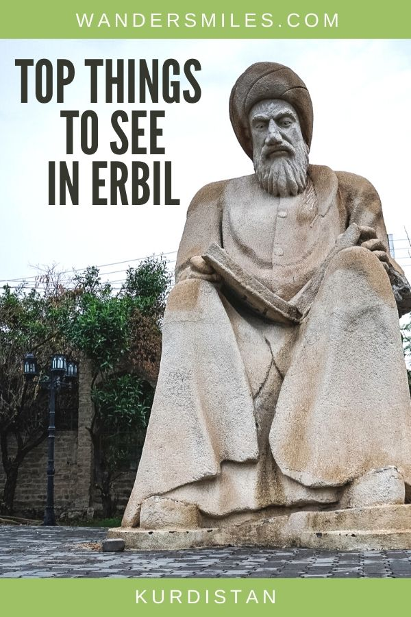 Discover the top things to see in Erbil, Iraqi Kurdistan