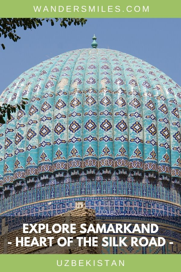 Guide to seeing Bibi-Khanym Mosque and many other beautiful historical buildings and mausoleums in Samarkand