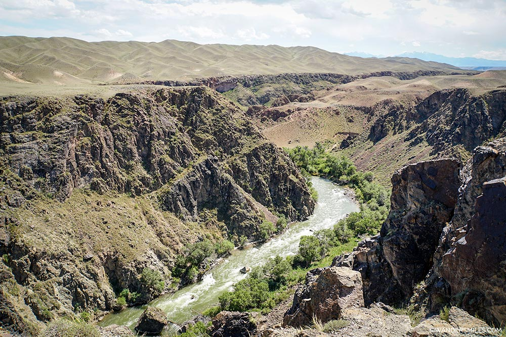 Valley of the Witches at Charyn Canyon, Kazakhstan