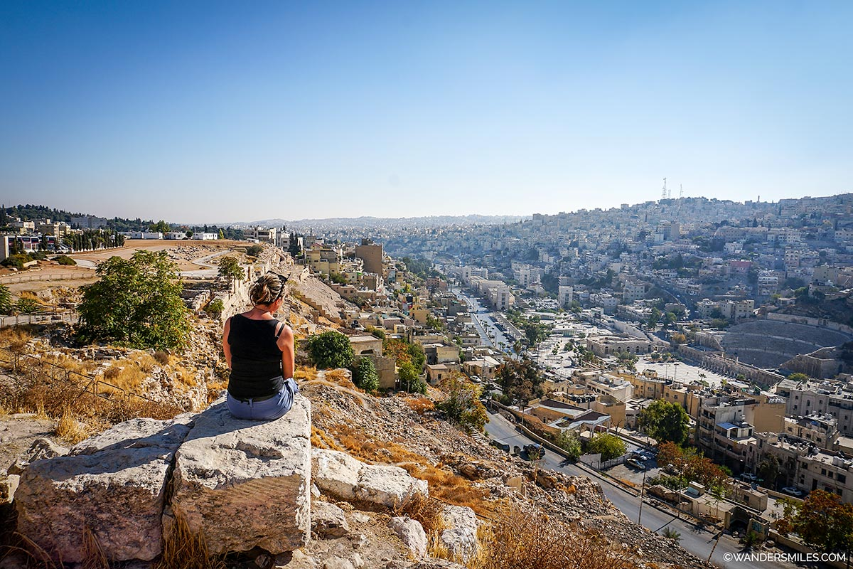 View over Amman from the Citadel