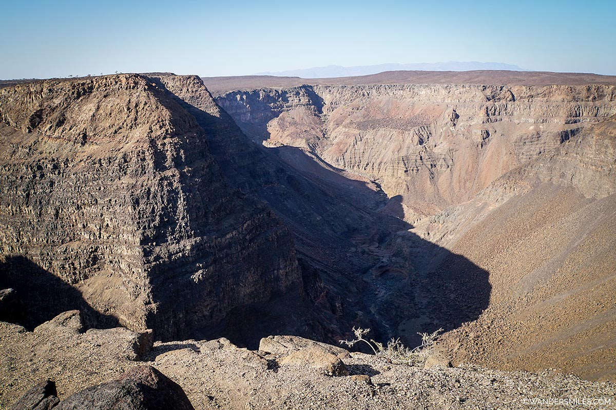 Dimbia Canyon in Djobouti