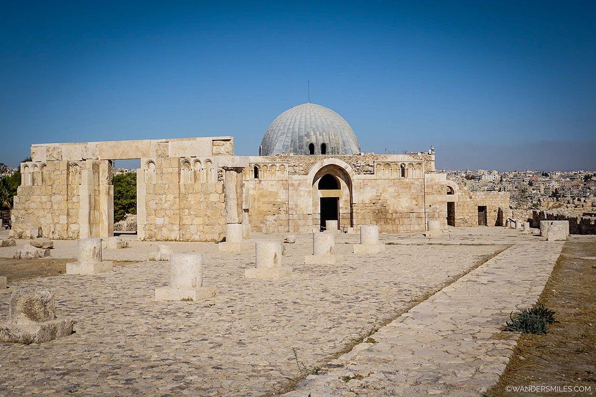 Umayyad Palace in Amman, Jordan