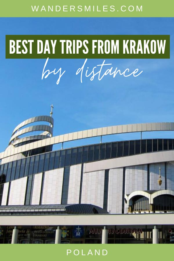Guide to the best day trips from Krakow by distance