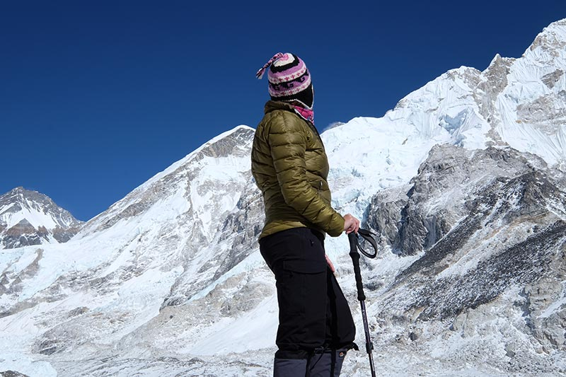 Hiking Everest Base Camp - Konstantina from My Unusual Journeys