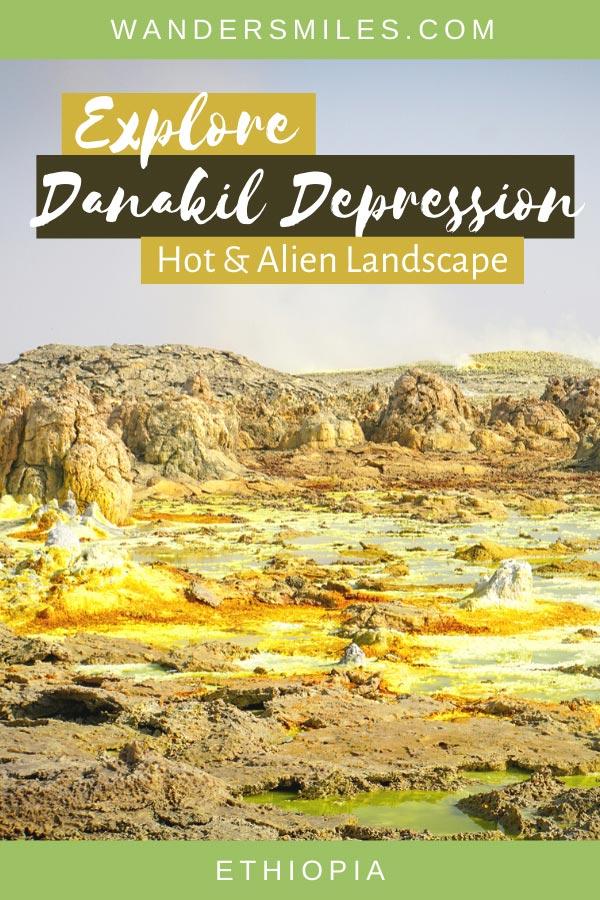 Guide to exploring Dallol volcano in the Danakil Depression, Ethiopia
