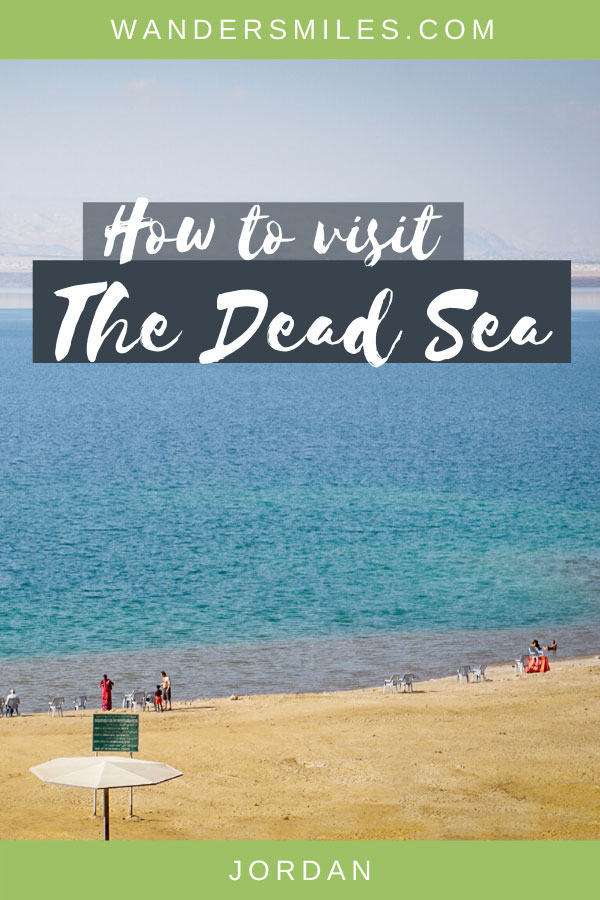 Tips on how to visit the Dead Sea in Jordan