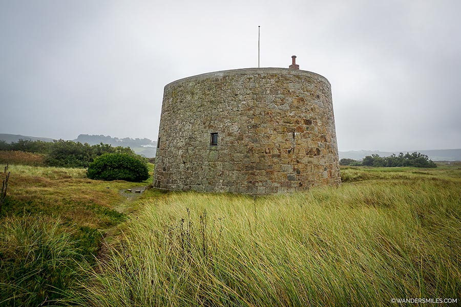 Kempt Tower in Jersey - Channel Islands