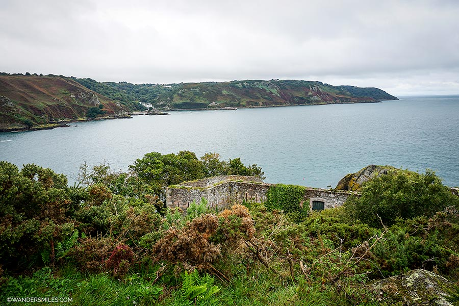 L'Etacquerel Fort in Jersey