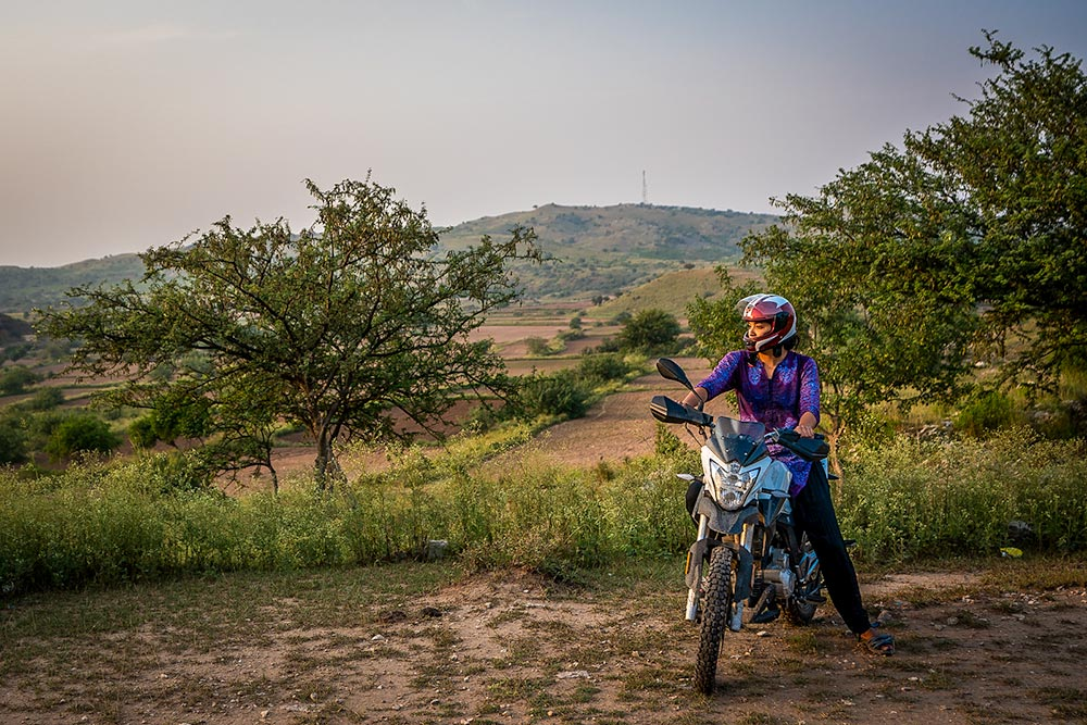 Learning to motorbike as a women in Pakistan - Alex from Lost With Purpose