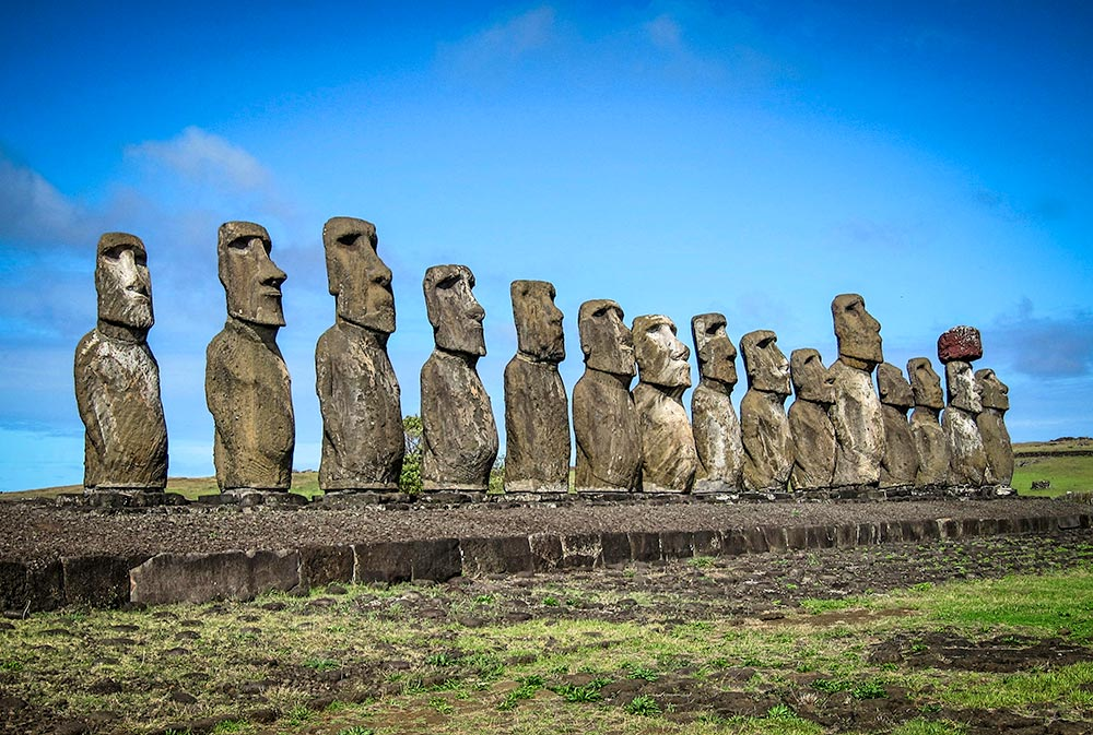Moai on Easter Island - Life Of Doing