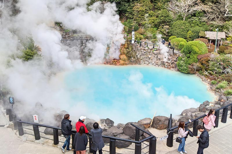 Hells of Beppu Umi Jigoku in Japan - Life Of Doing