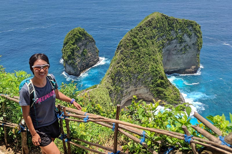 Kelingking Beach at Nusa Penida in Indonesia - Life Of Doing