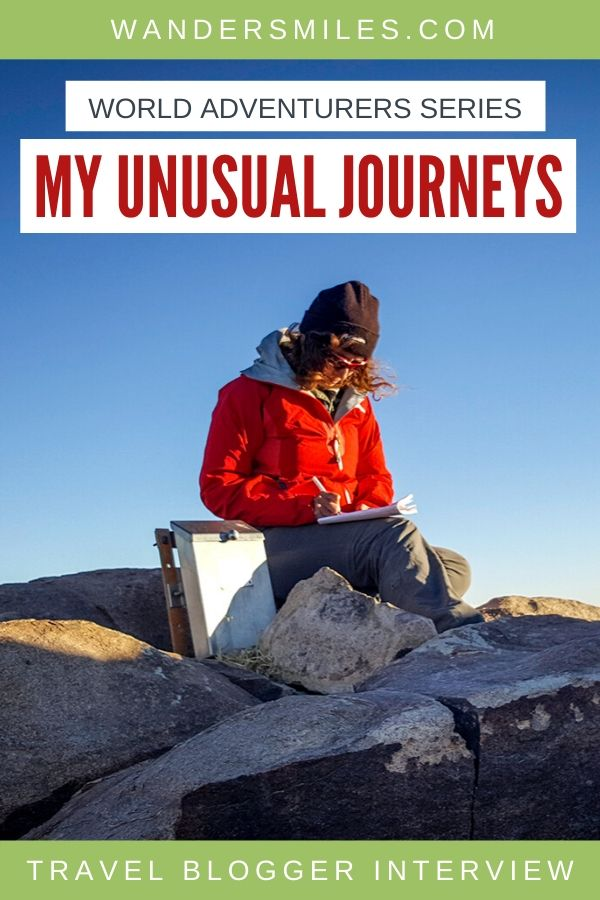 Wanders Miles World Adventurers Interview with Konstantina Sakelliou from My Unusual Journeys