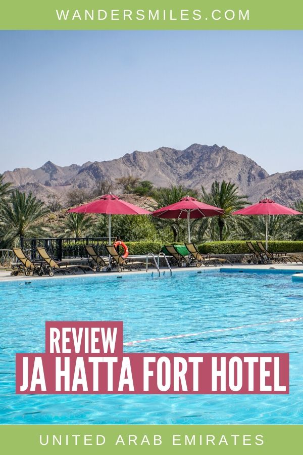 Relax at the JA Hatta Fort Hotel in the United Arab Emirates