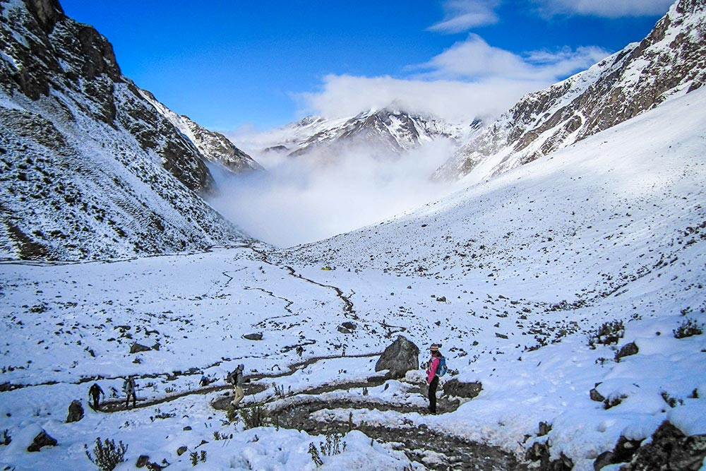 Hiking the Salkantay Pass in Peru - Life Of Doing