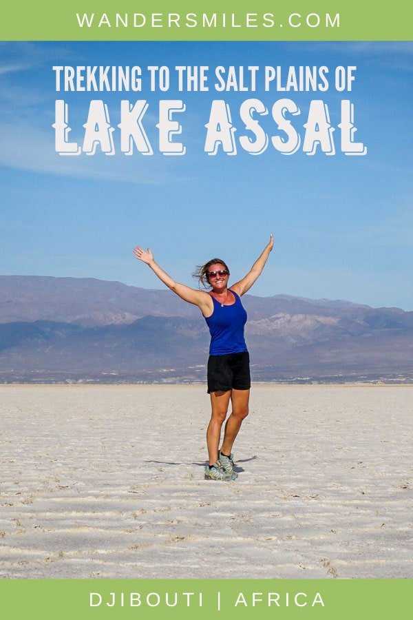 Guide to trekking to the stunning salt plains of Lake Assal in Djibouti