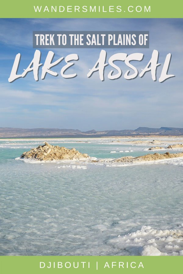 Experience Lake Assal in Djibouti, the saltiest lake on the world