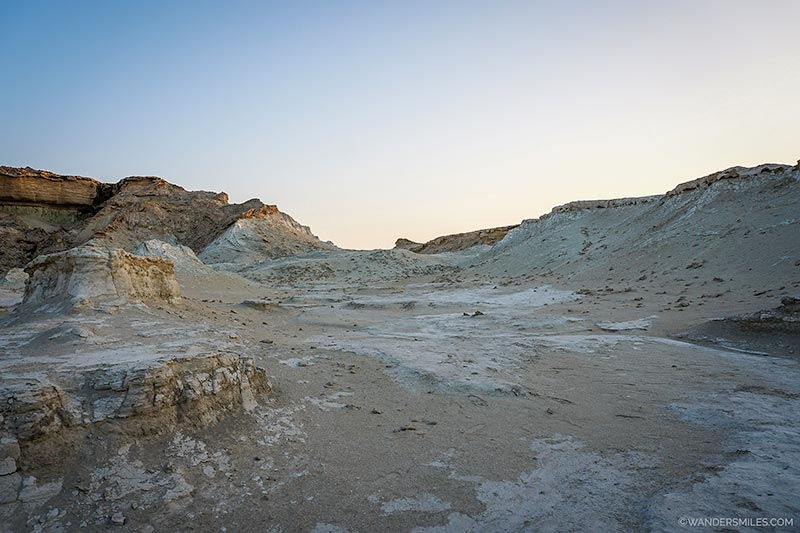 Visit Qeshm to see the Valley of Fallen Stars