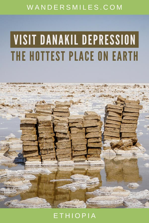 How to visit Danakil Depression with salt plains and Dallol volcano