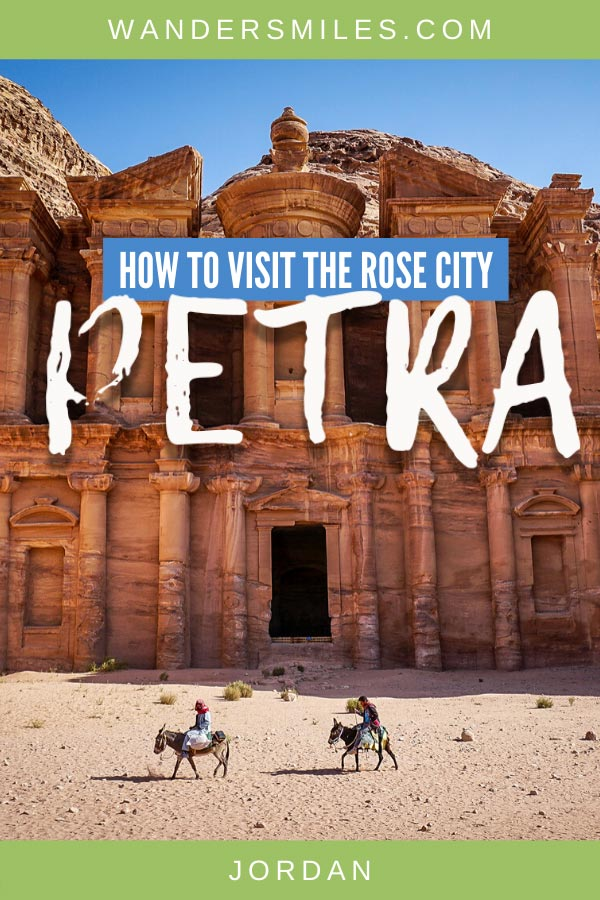 How to visit the Rose City of Petra in Jordan