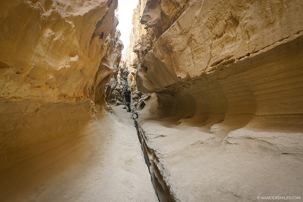 Natural corridor at the Chahkuh Valley on Qeshm Island