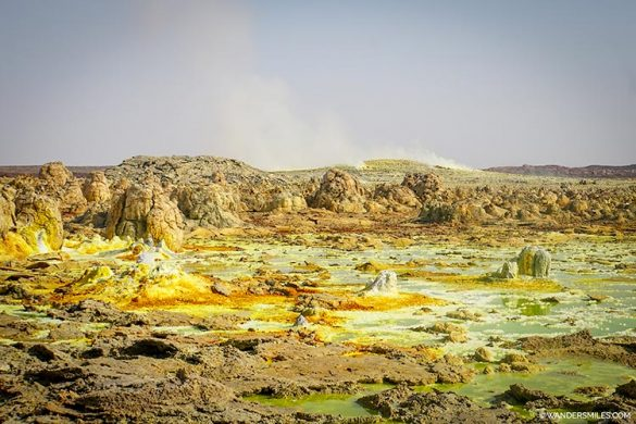 See the steaming sulphuric Dallol volcano as you explore Danakil Dpression