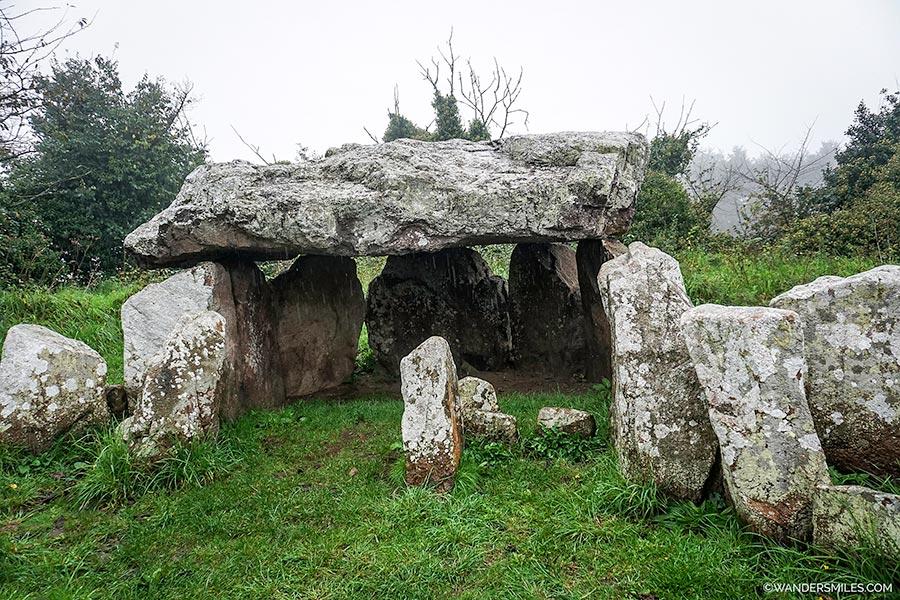 Jersey's dolmens called La Pouquelaye de Faldouët