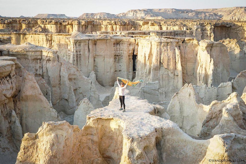 Wanders Miles in Fallen Star Valley, Qeshm