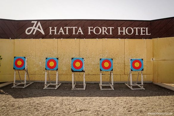 Archery at JA Hatta Fort Resort