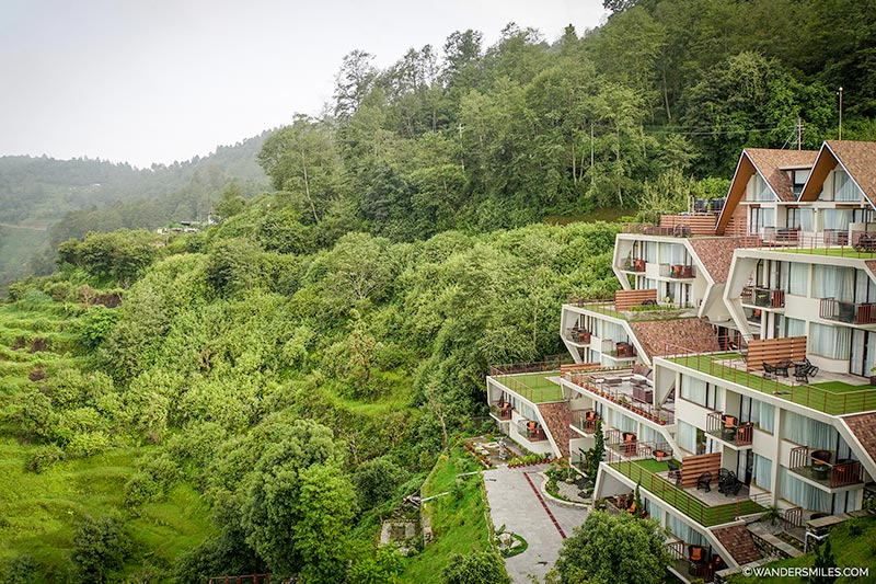 Hotel Mystic Mountain in Nagarkot overlooking the Himalayas