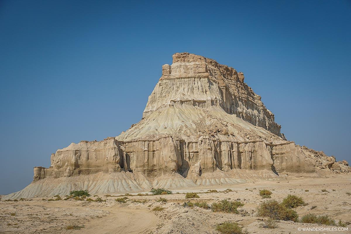 Statue Valley in Qeshm Island
