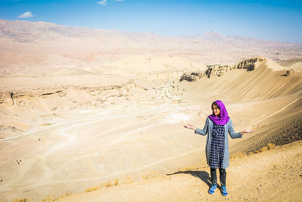 Solo female travel in Afghanistan - Alex from Lost With Purpose