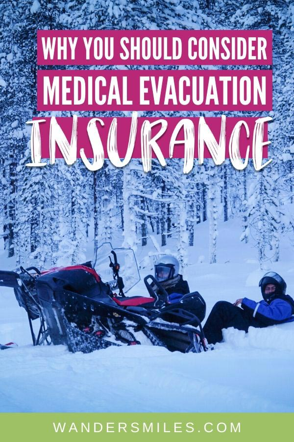 Why you should consider medical evacuation insurance