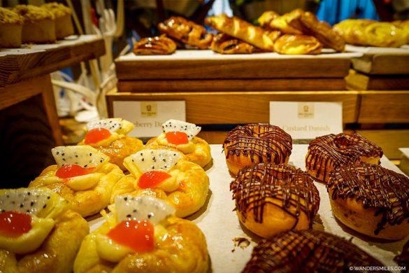 Pastries at Breakfast at the Pan Pacific Yangon
