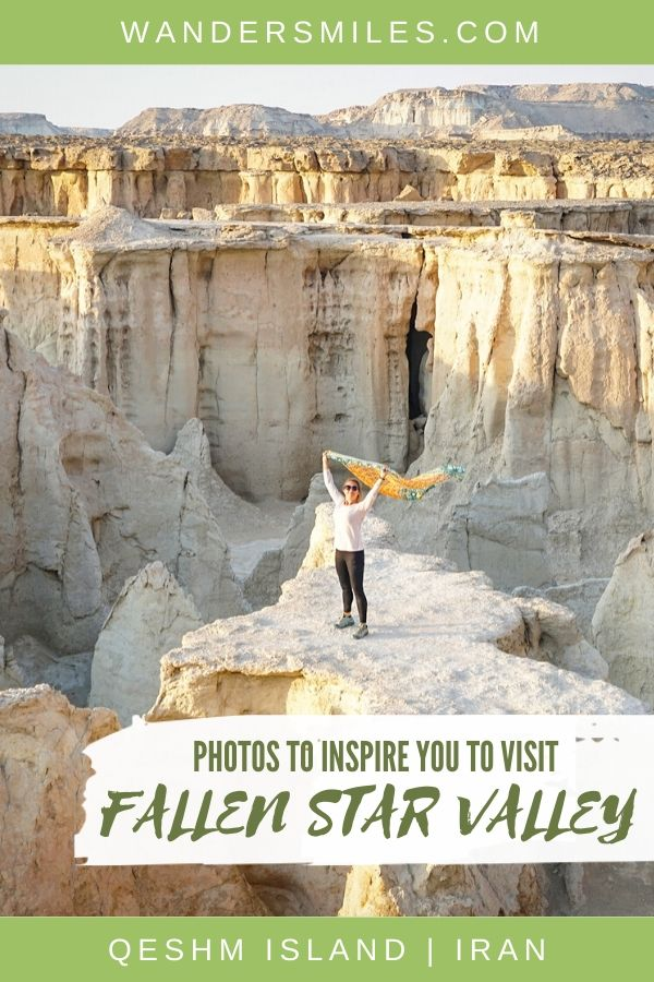 Inspirational photos to make you visit Fallen star Valley on Qeshm, Iran