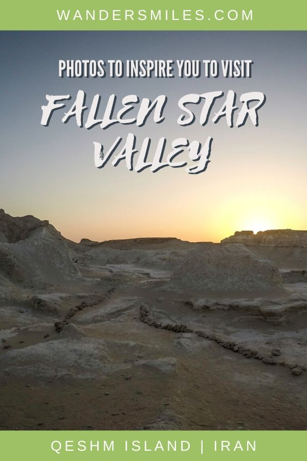 Legend about the Fallen Star Valley on Qeshm Island and photos to inspire you to visit