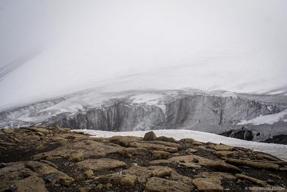 Top of the caldera on Deception Island