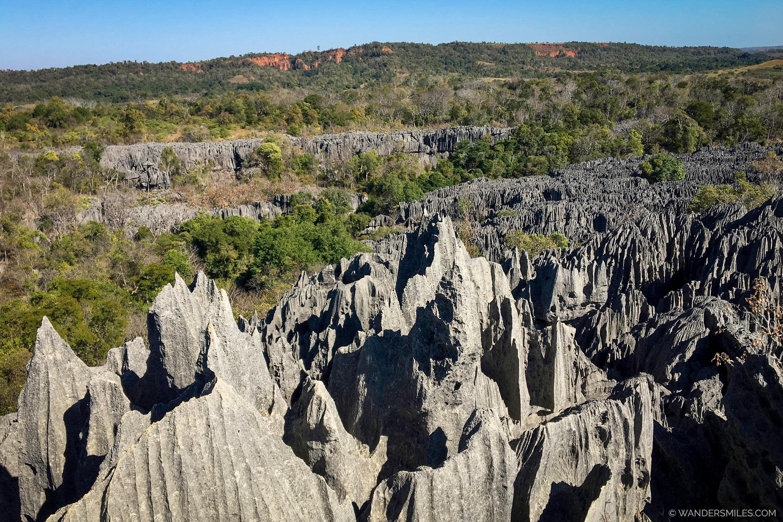 Limestone Pinnacles at the Tsingy de Bemaraha Nature Reserve