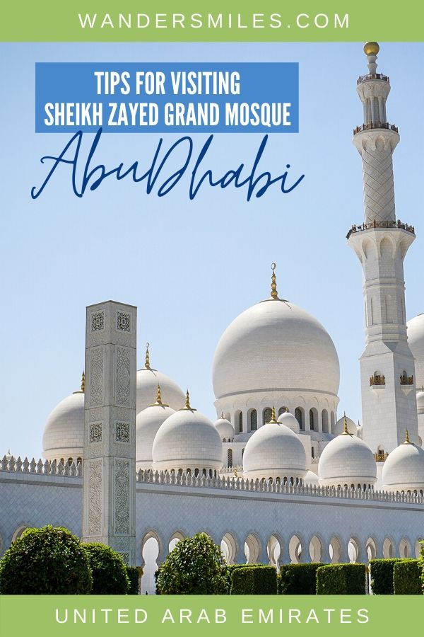 All you need to know before visiting the Sheikh Zayed Grand Mosque in Abu Dhabi