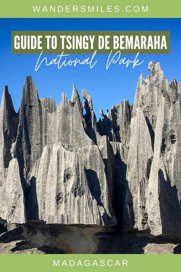 Guide to visiting Tsingy de Bemaraha National Park in Madagascar