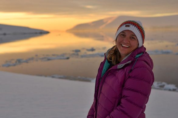 Vanessa from Wanders Miles in Antarctica. Do you want to work with her?