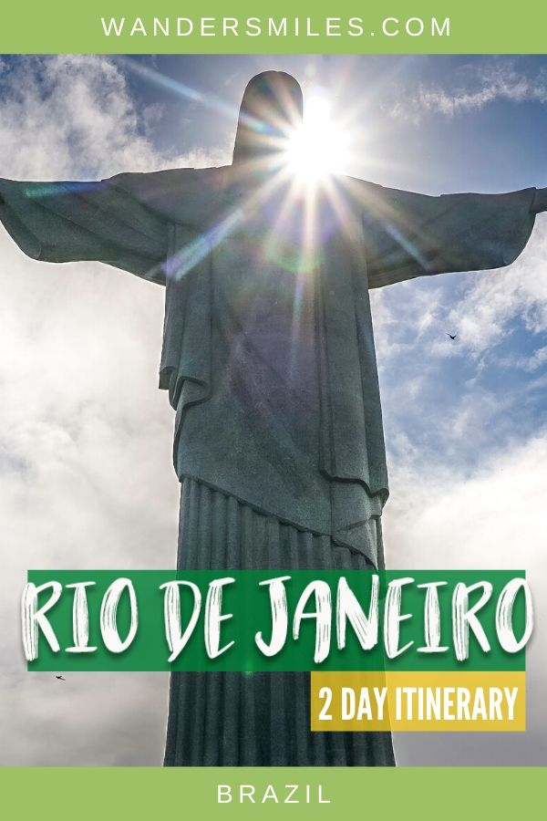 Visit the main sights in Rio de Janeiro with 2 day itinerary