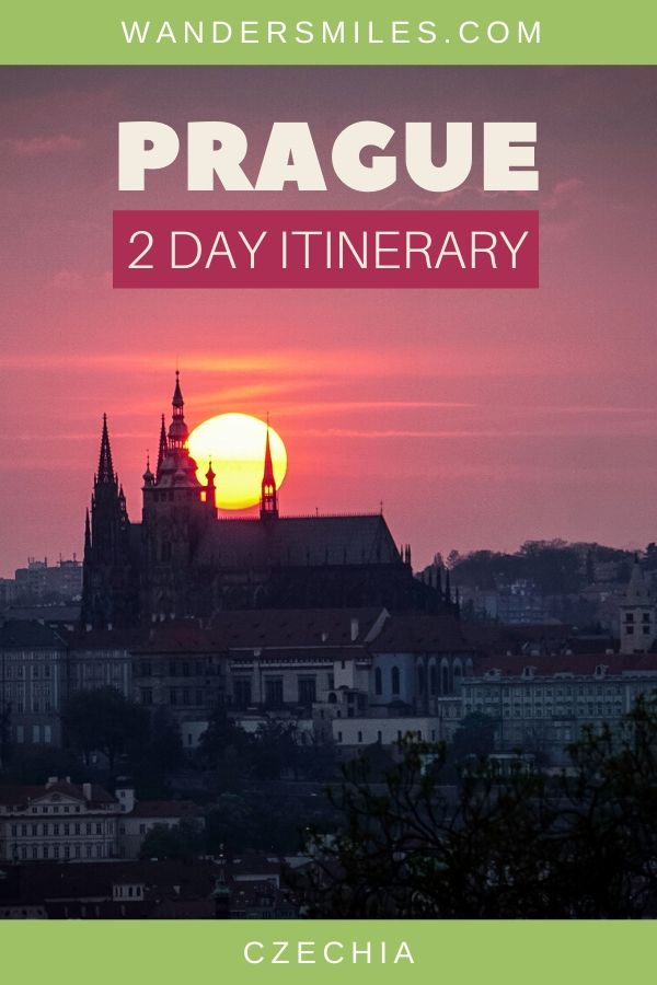 Prague 2 day itinerary with maps