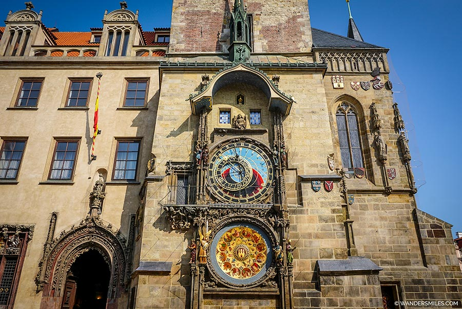 Astronomical Clock in Prague Old Town