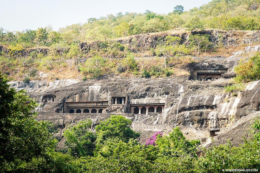 Views as you visit Ajanta Caves