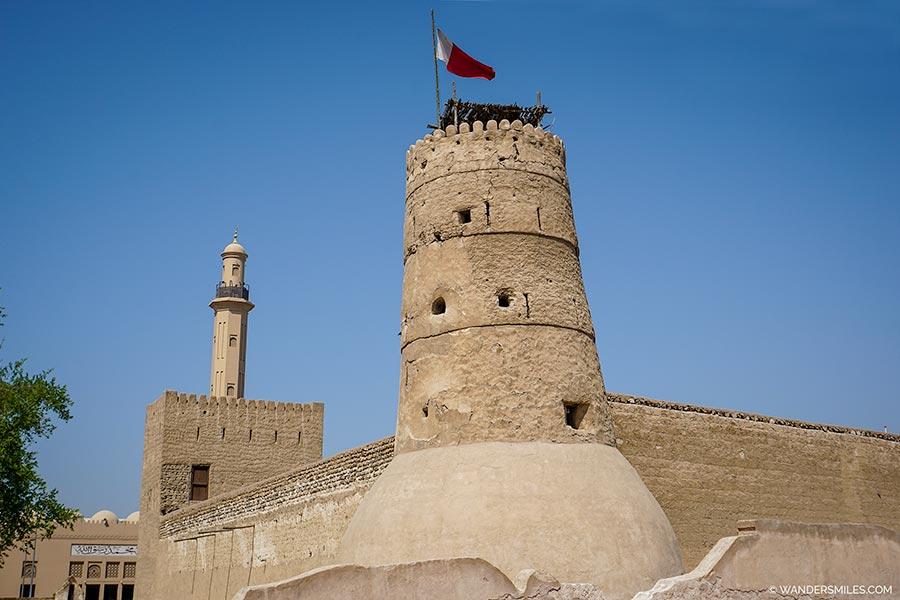 Dubai Museum at Al Fahidi Fort in Old Dubai