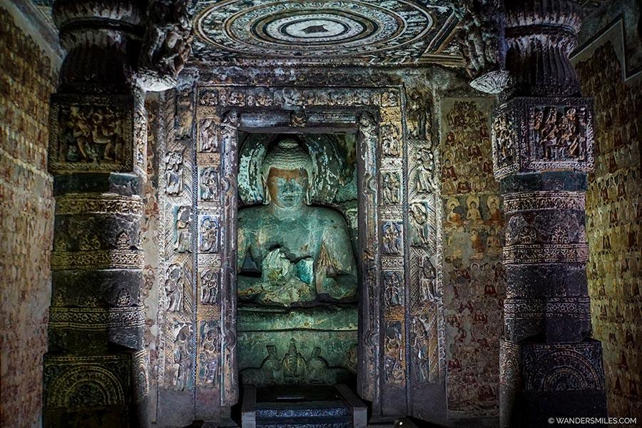 Cave 2 of Ajanta Caves