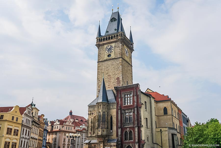 Old Town Hall in Prague