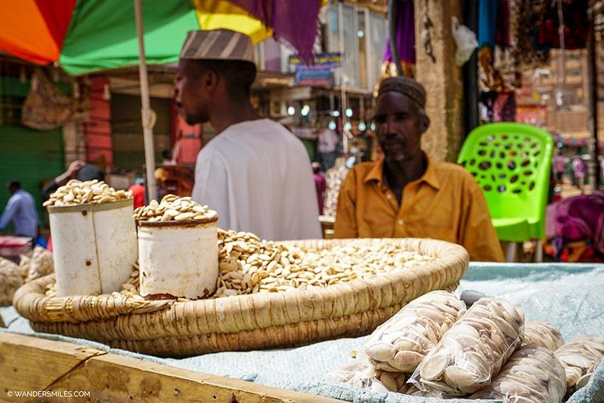 Omdurman market in Khartoum