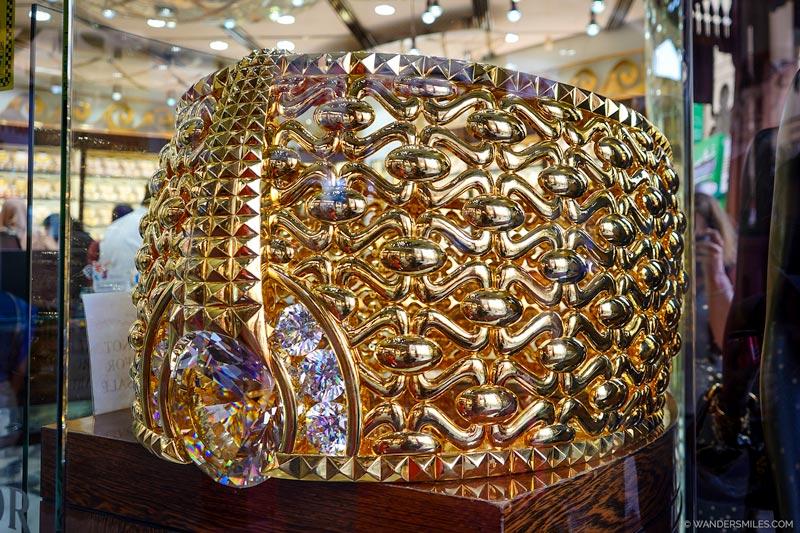 World's Heaviest Gold Ring in Dubai Gold Souk